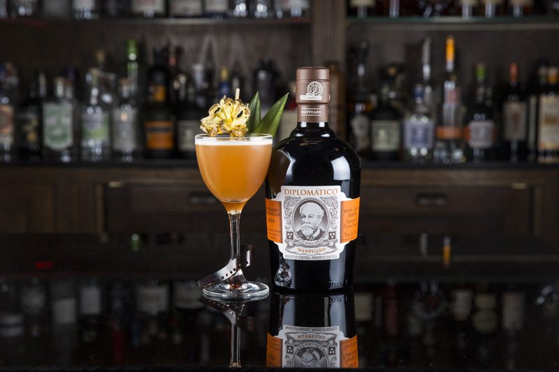 Diplomatico Mary Pickford cocktail diplomático cocktail