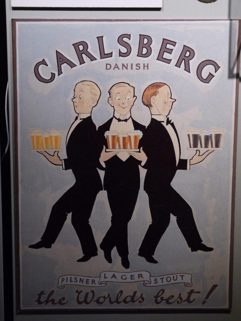 Vieille pub Carlsberg
