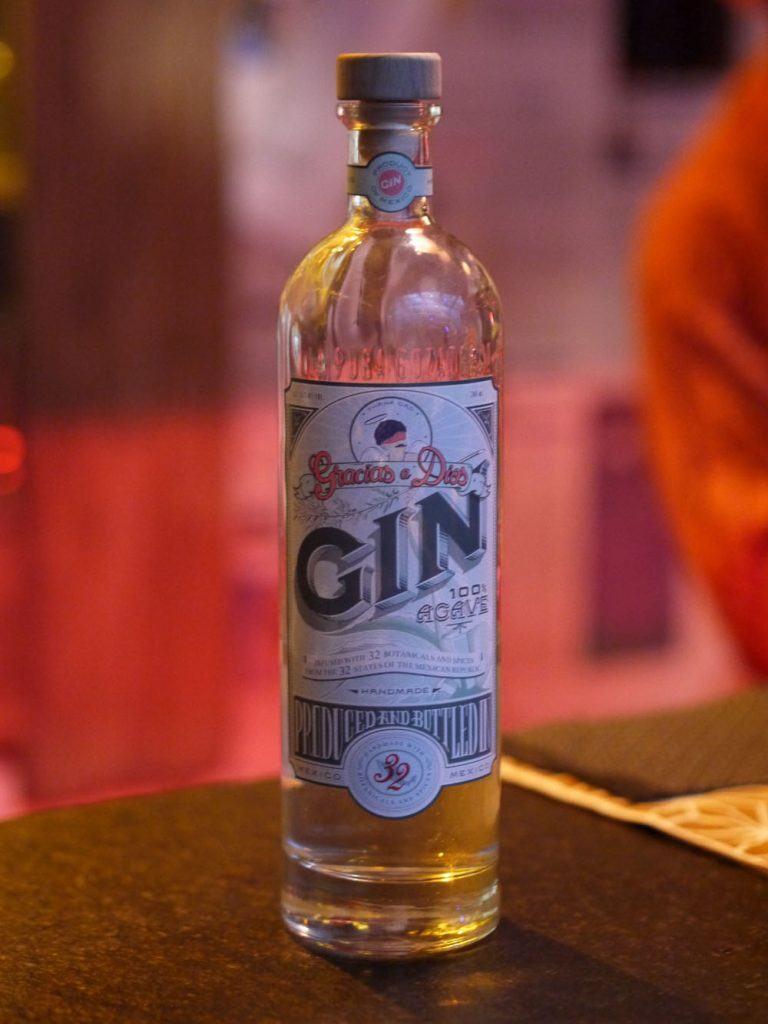Gin mezcal mexicain