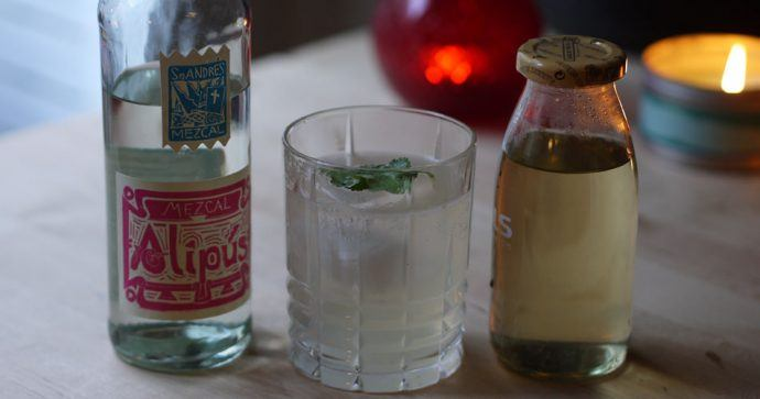 cocktail au mezcal