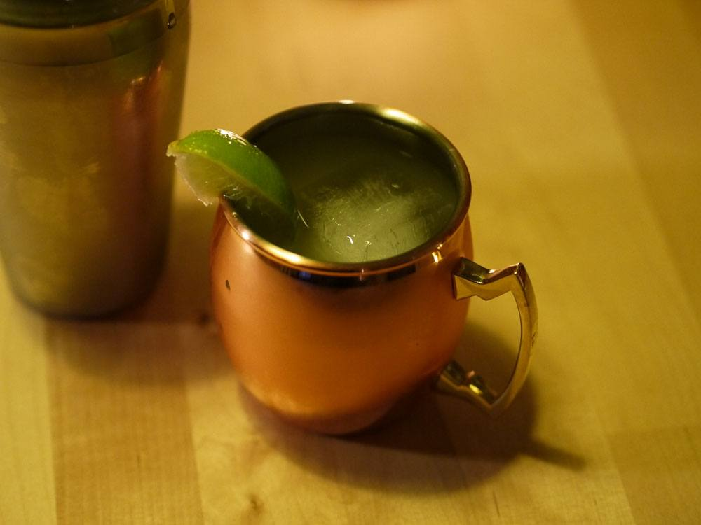 Moscow mule avec Ginger Beer maison