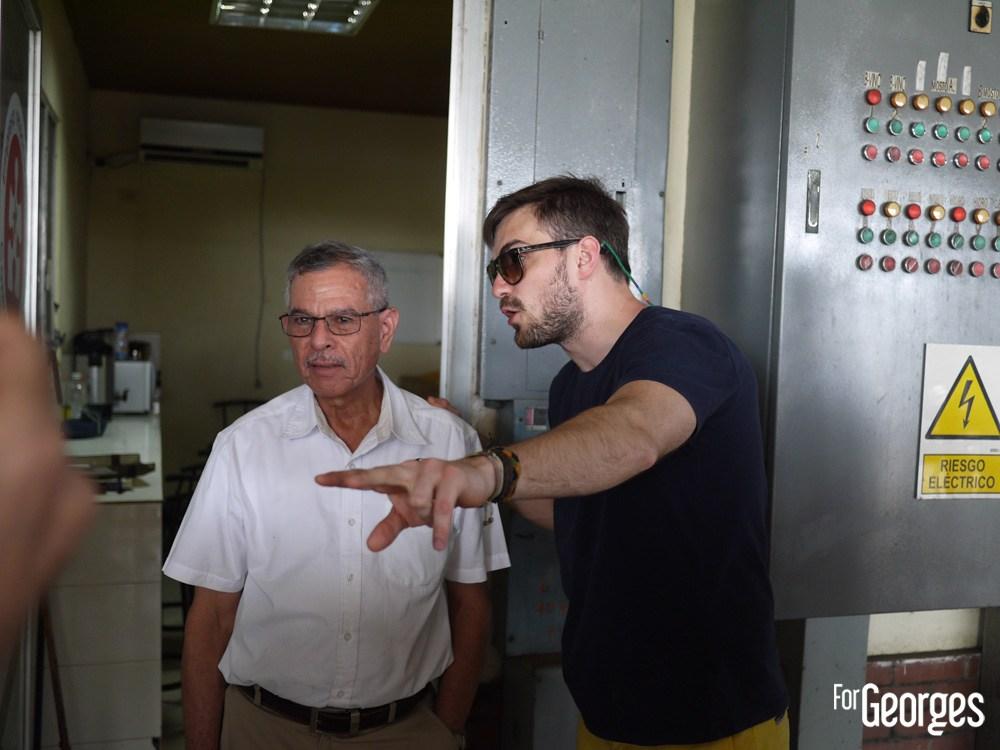 Master Distiller et brand ambassadeur Ron Abuelo