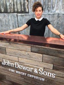 Sophie ambassadrice whisky