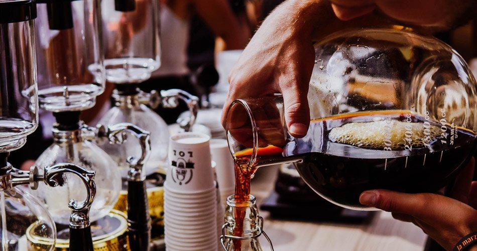 Café dans les cocktails