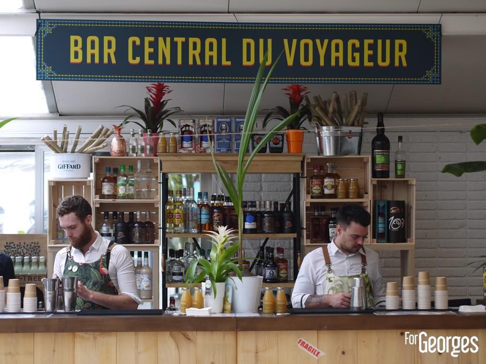 Rhum Fest 2018 - Bar central du voyageur