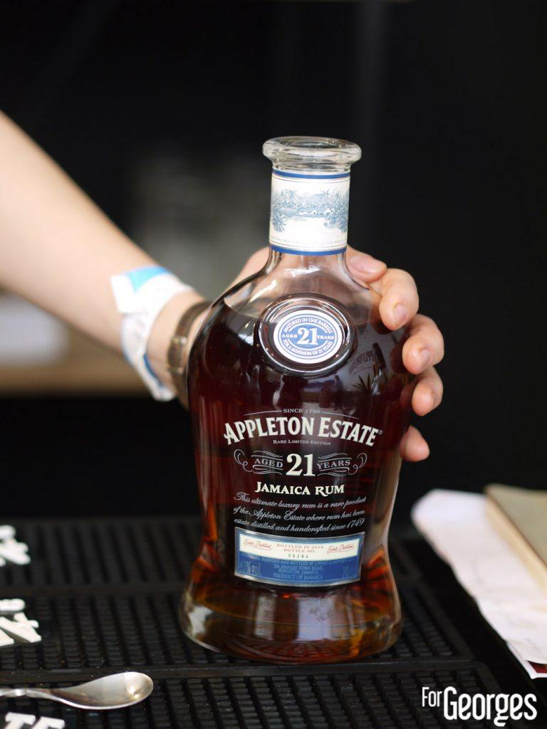 Rhum Fest 2018 - Appleton Estate 21 ans