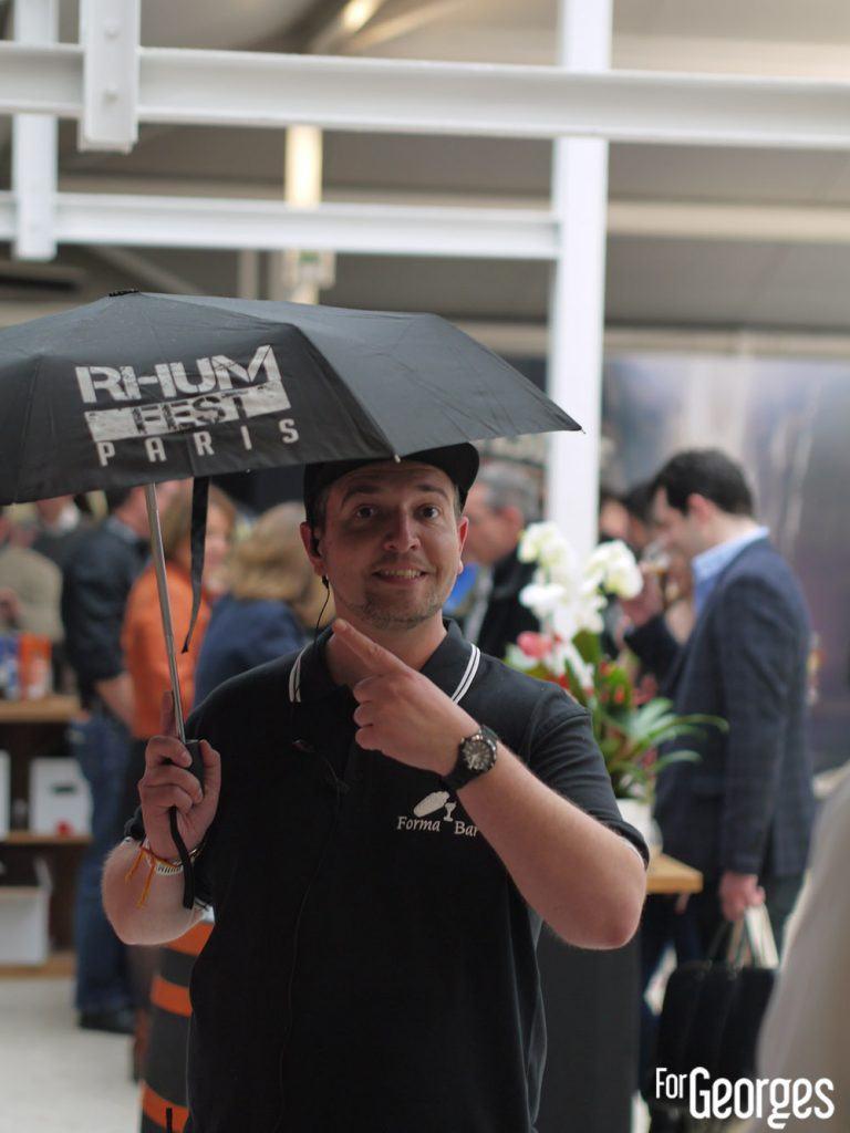 Rhum fest paris - Parapluie