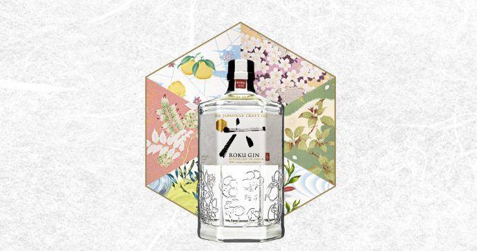 Roku gin japonais