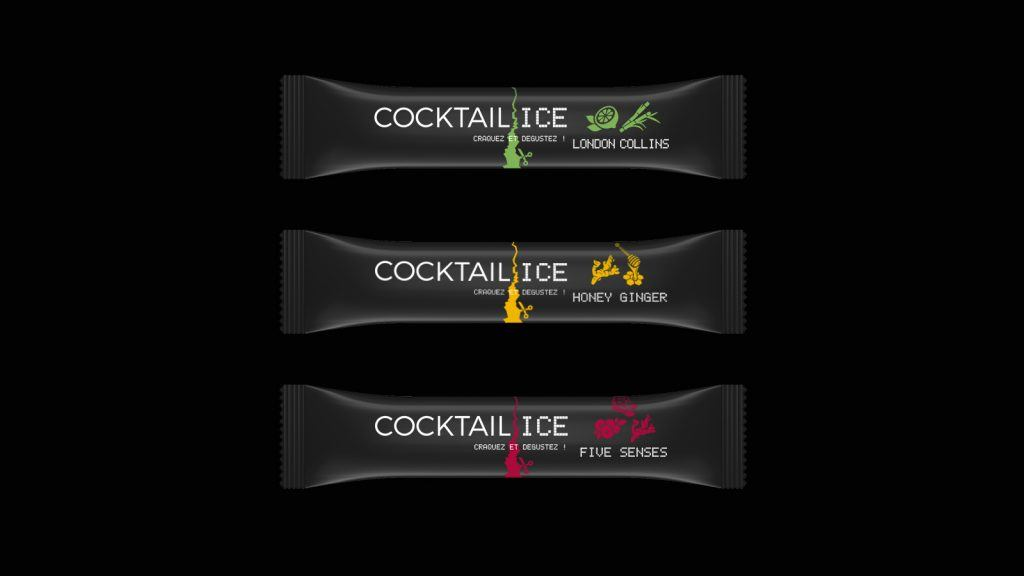 Cocktail Ice Label 5