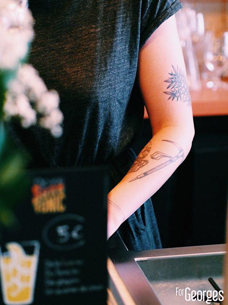 Tatouage Kouto paris Bar à cokctails
