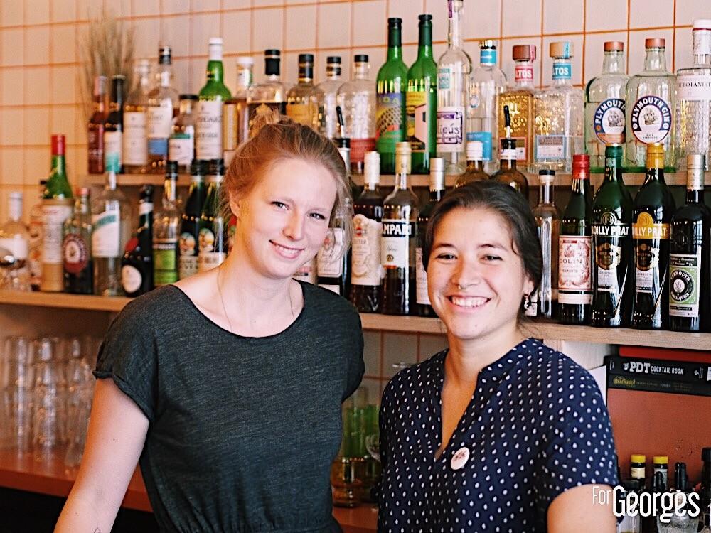 Marie Cabaret et Chirine Kouto Bar à cocktail Paris
