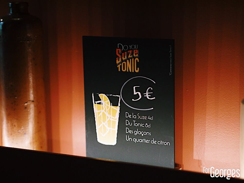 Suze Tonic Kouto Paris