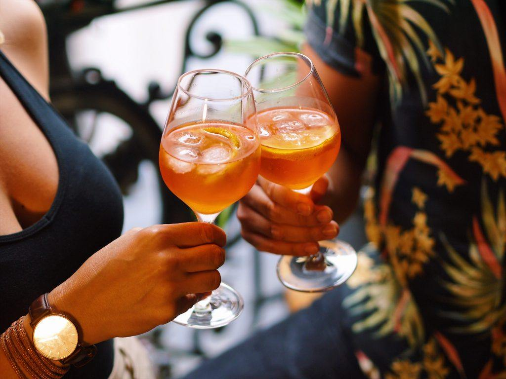 Prosseco Canti cocktail Spritz