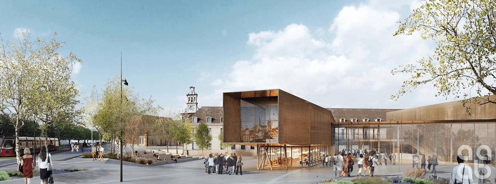 Cité de la gastronomie et des vins Dijon