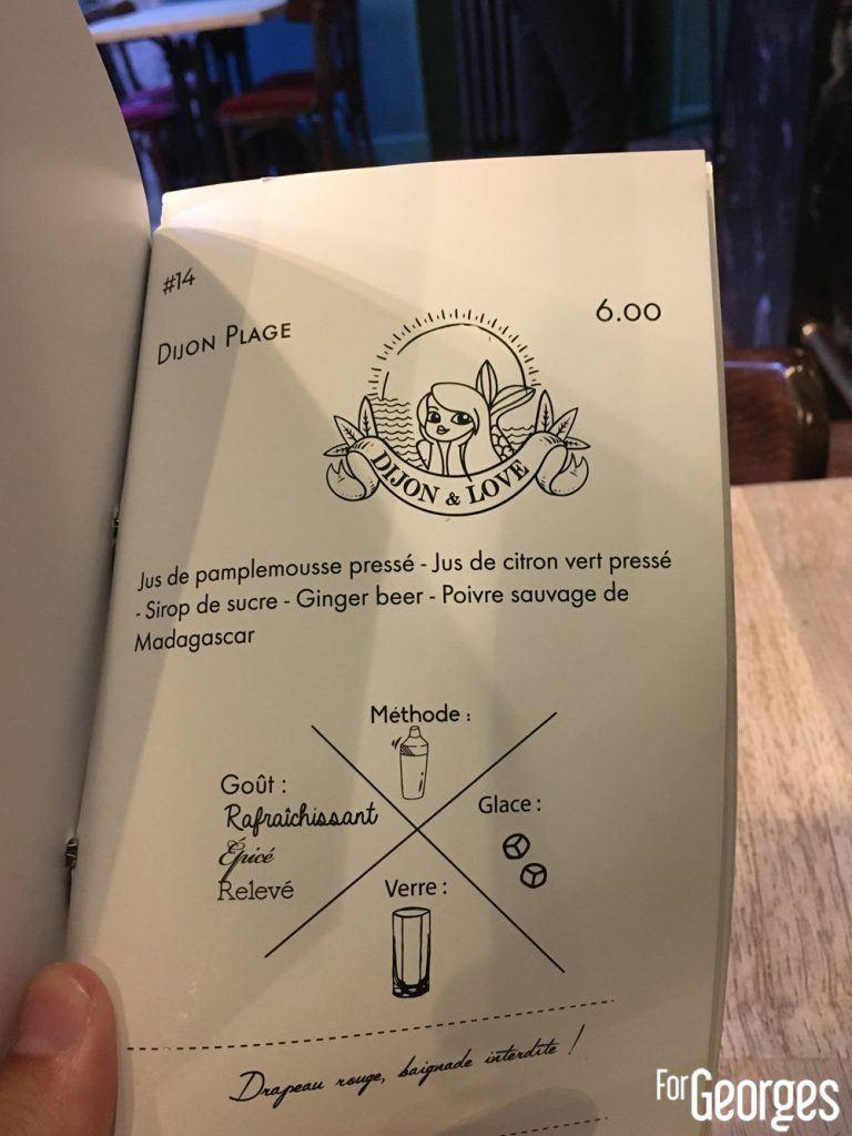 Dijon Plage cocktail bar Mister Moutarde