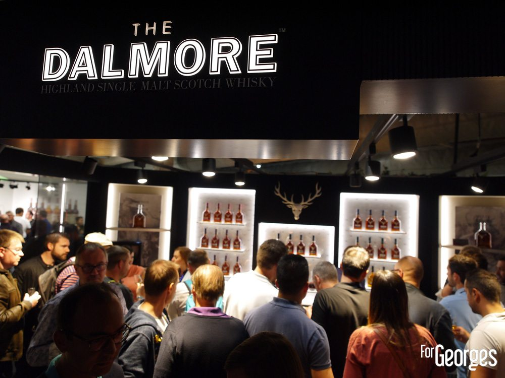 The Dalmore stand - Whisky live Paris