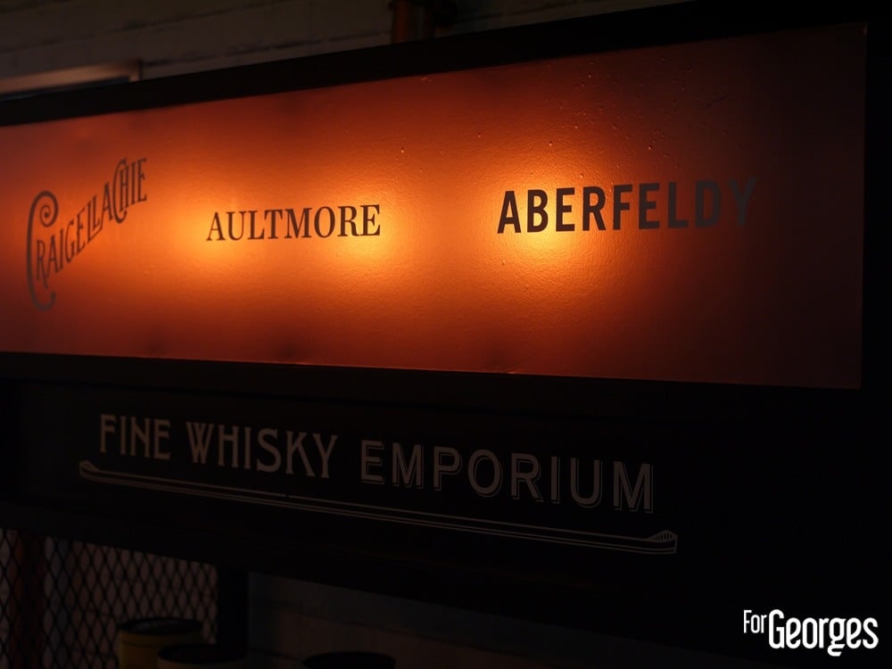 Aultmore Aberfeldy Stand - Whisky live Paris