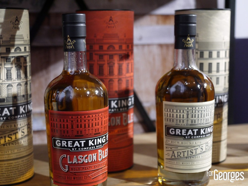 Great king bottles - Whisky live Paris