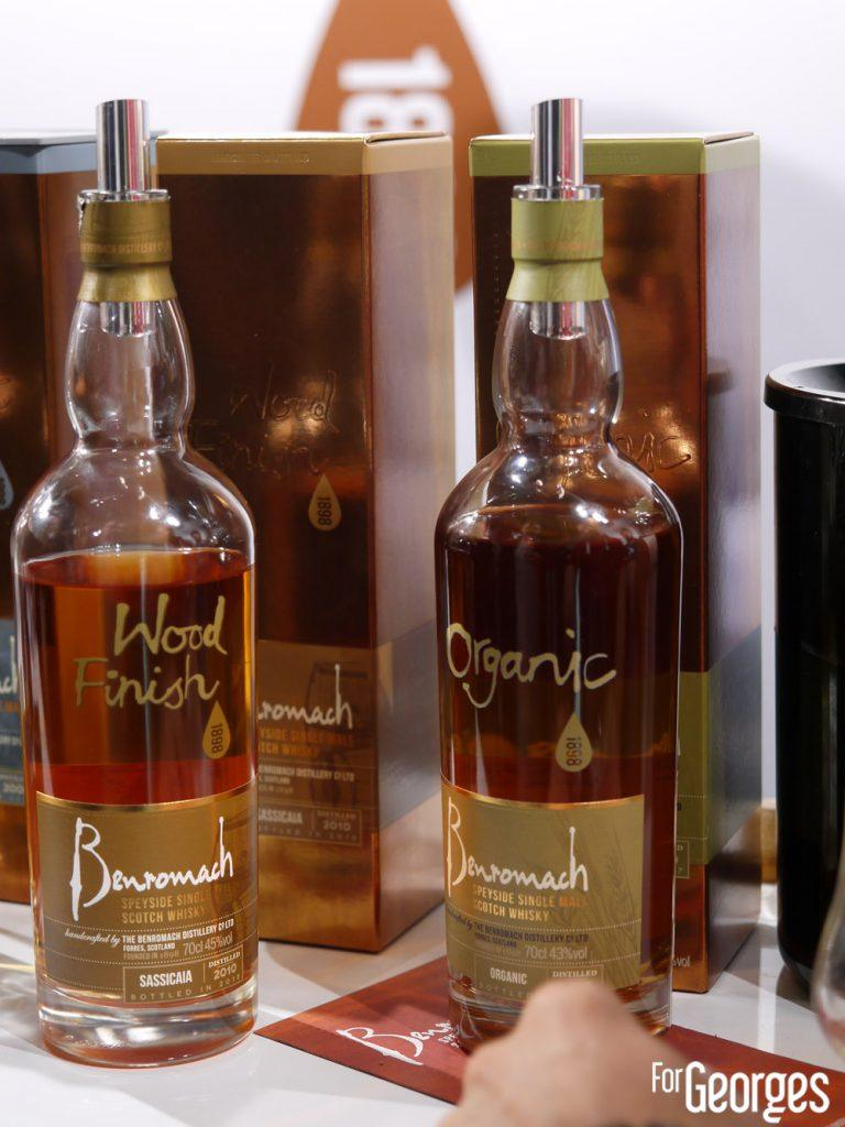 Benromach - whisky bio - whisky live Paris