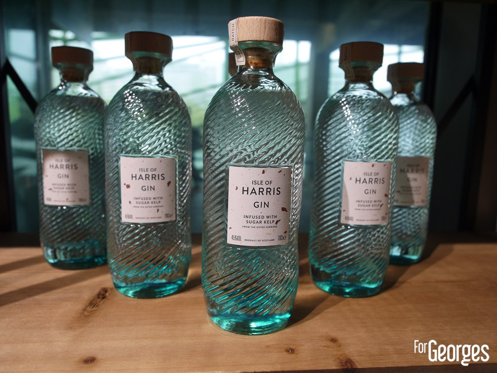 Isle of Harris gin bottles - Whisky live Paris