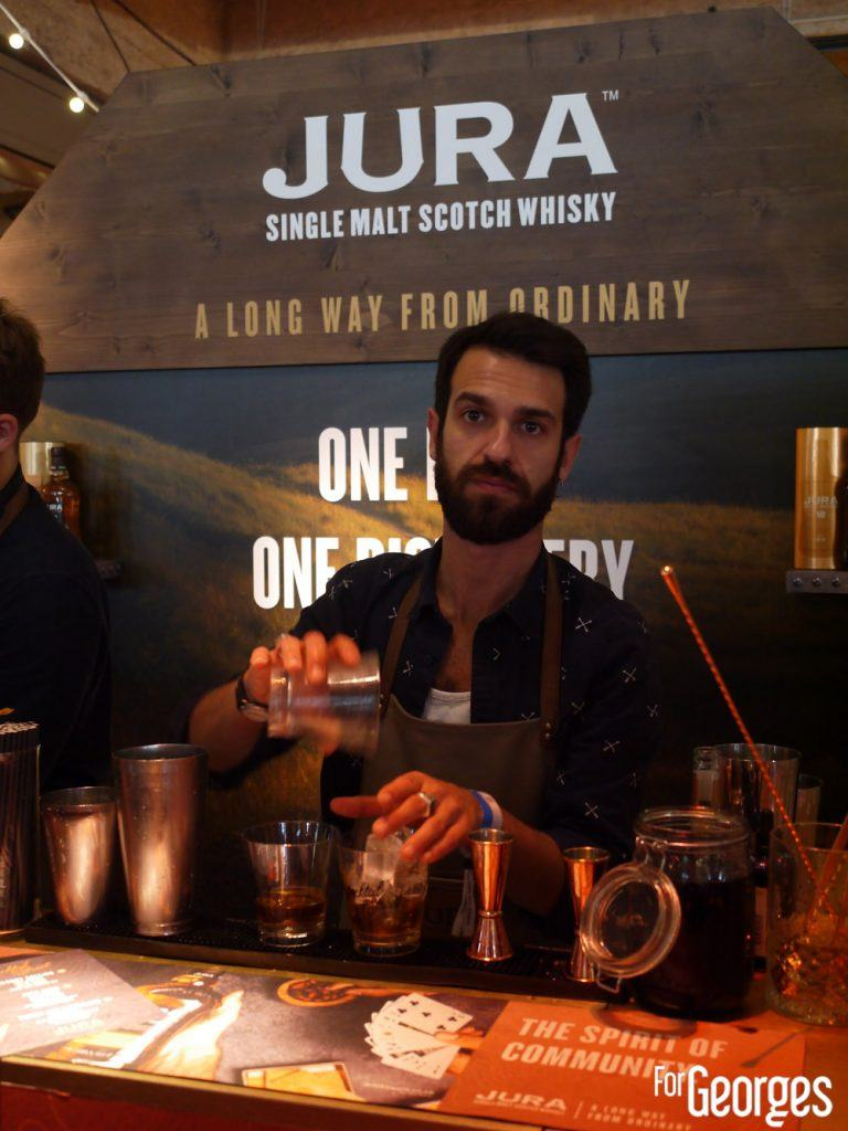 Jura whisky cocktail