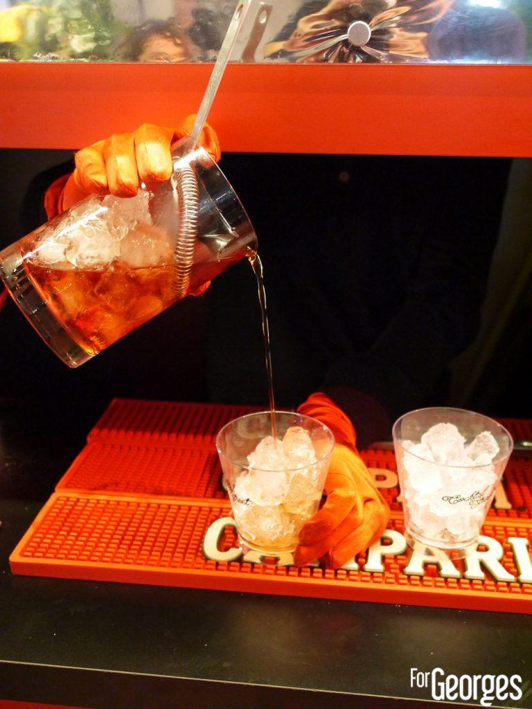 Campari bar à cocktail street Paris