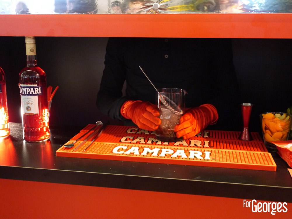 Bar Campari - paris cocktail Street