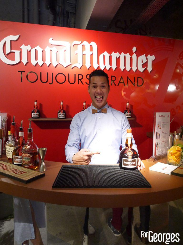Grand Marnier cocktail - Christophe Calbar cocktail bar