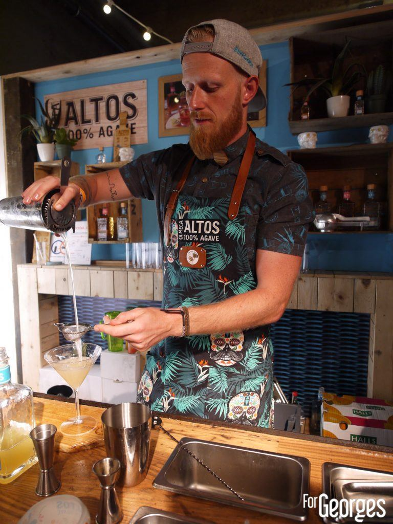 Altos tequila cocktail - cocktail street Paris