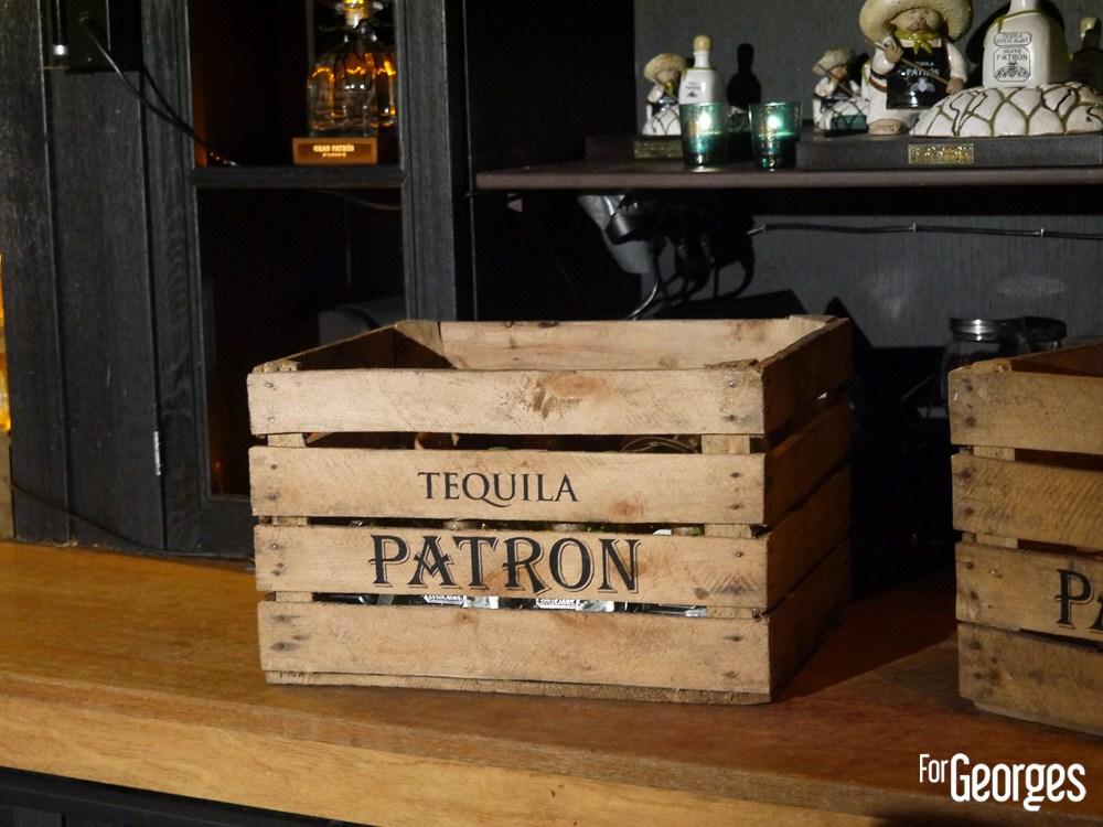 Caisse de tequila Patrón- Patròn Tequila - finale France