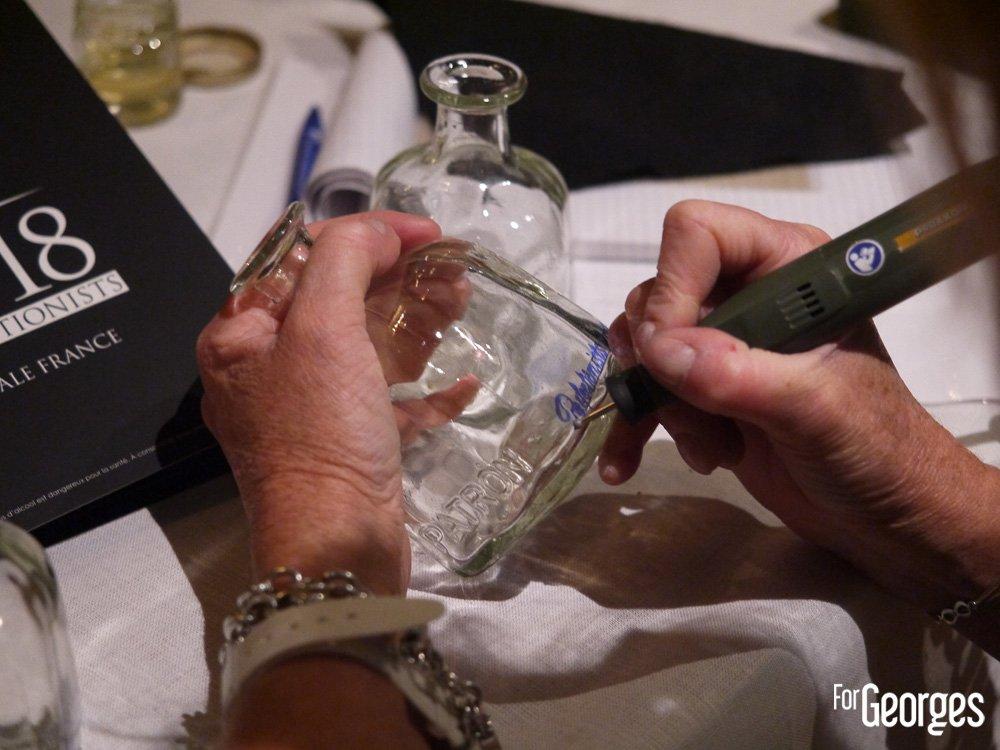 gravure sur Patròn Tequila - finale France