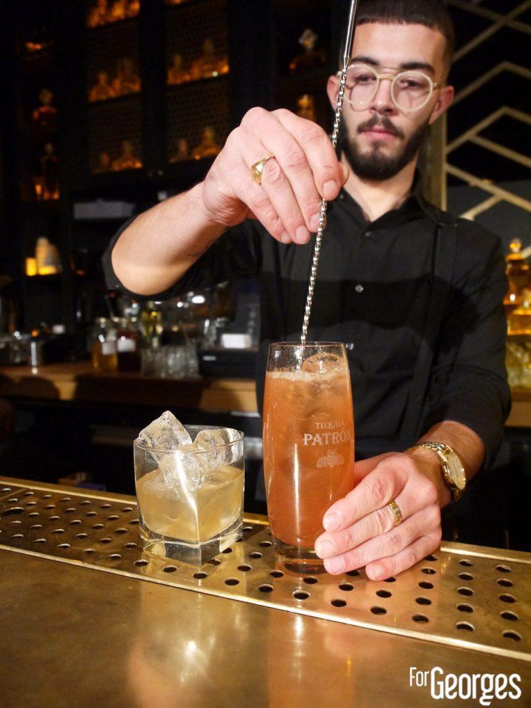 The manko cocktail bar Paris