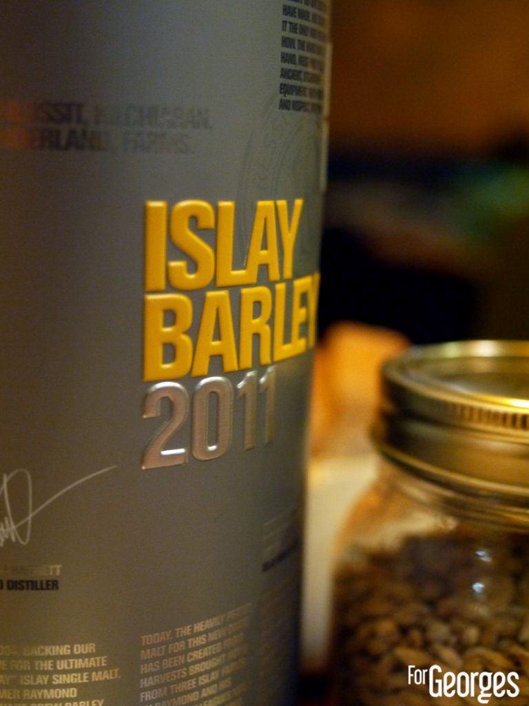 Port Charlotte Islay barley 2011