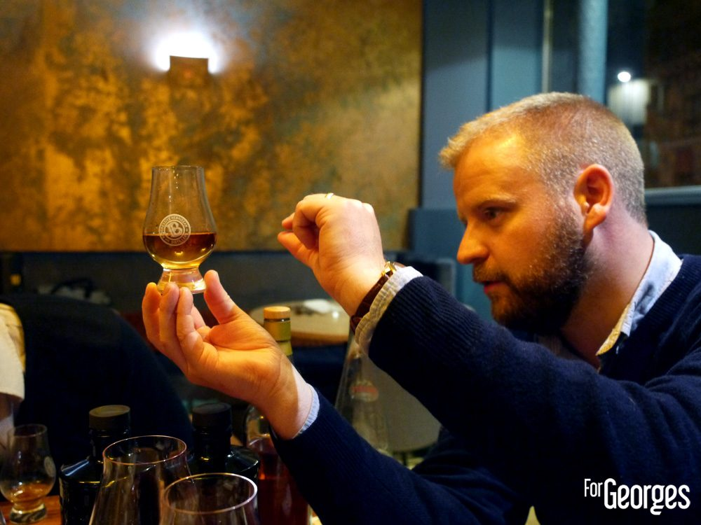 Adam Hannet Master Distiller Bruichladdich