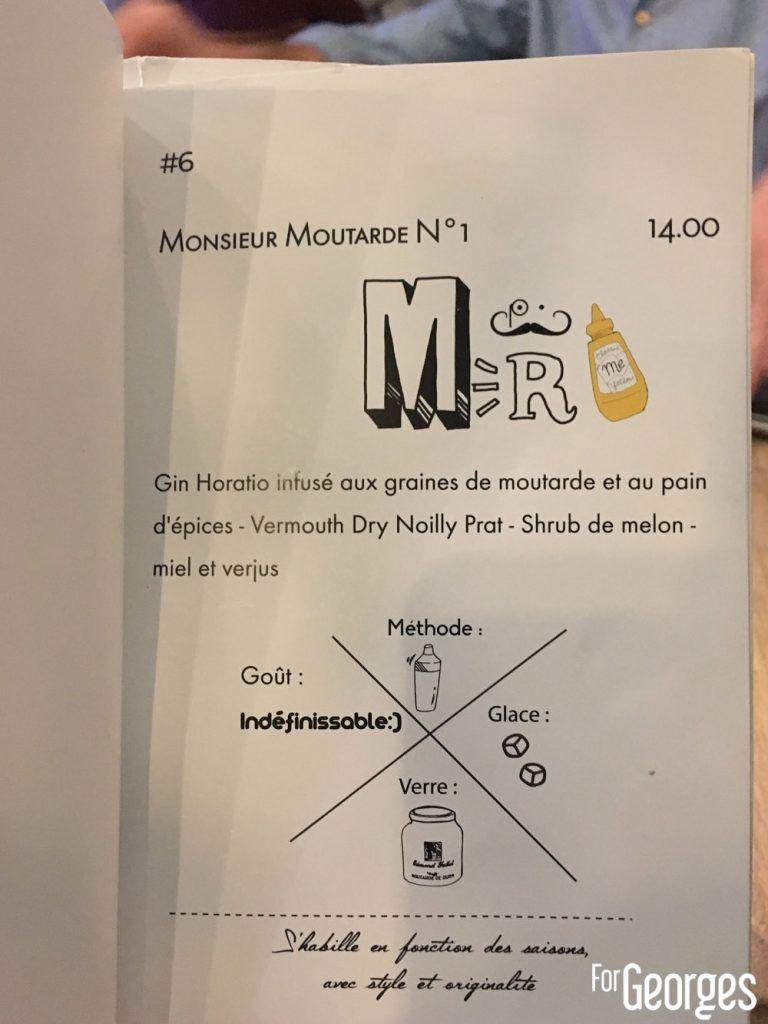 Menu Monsieur Moutarde