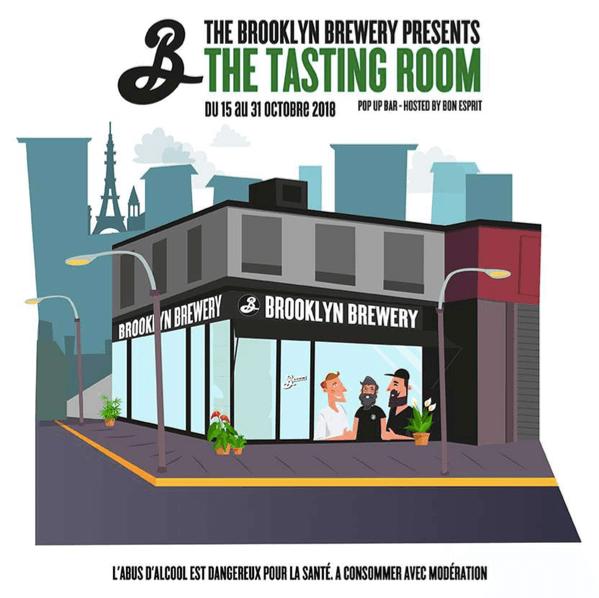 Brooklyn Brewery Pop Up tasting room