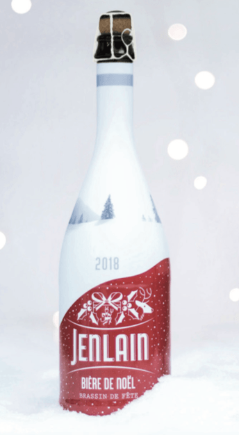 Bière de Noel Jenlain 2018