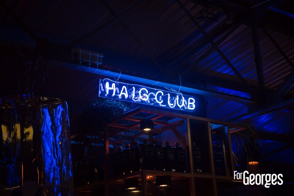 Haig Club bar Clubman