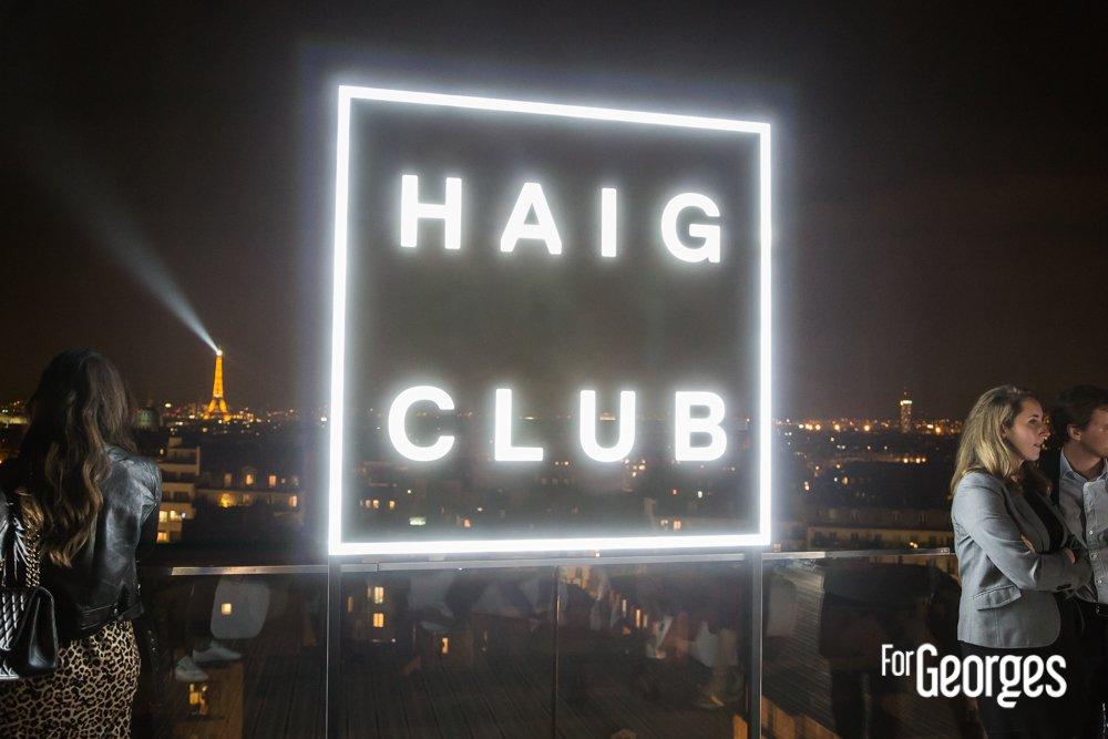 Haig Club Clubman soirée de lancement tour eiffel
