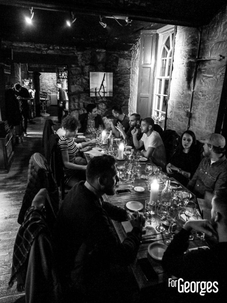 Diner Dewar's Edimbourg