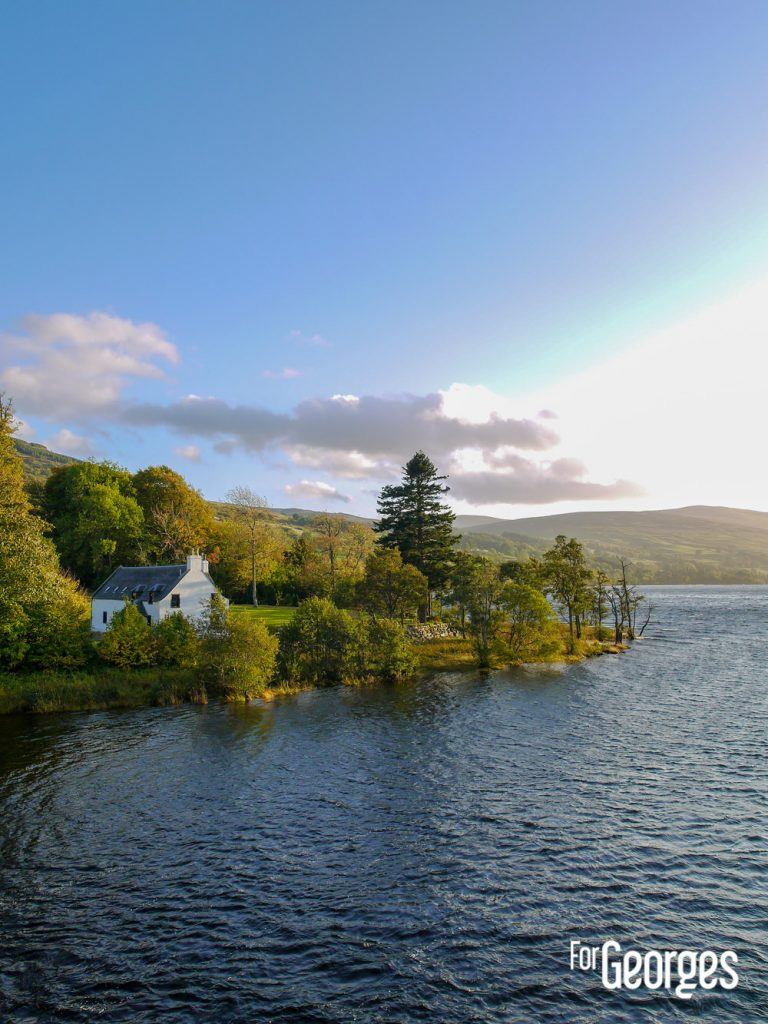 Paysage écossais Aberfeldy