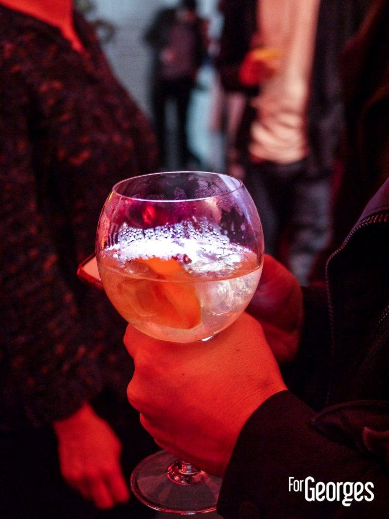 Cocktail à base de Grand Marnier