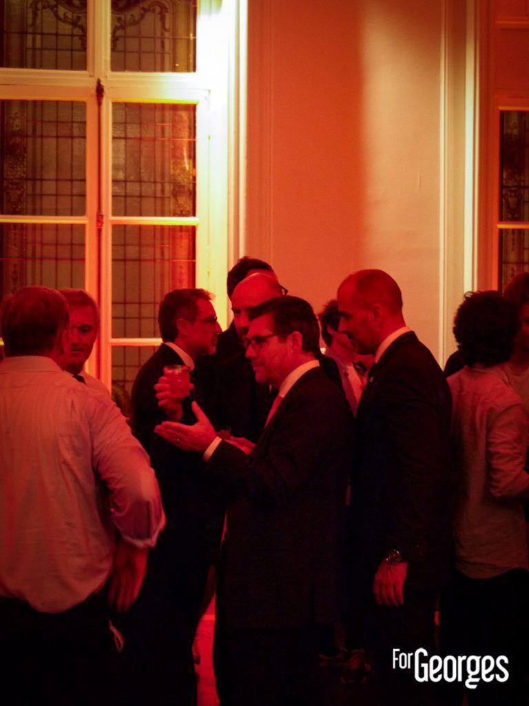 BOB CEO du groupe Campari à la soirée Grand Marnier
