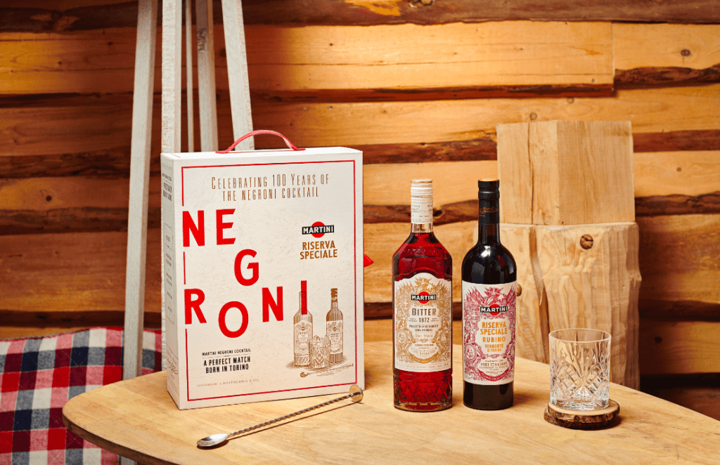Coffret Negroni Martini