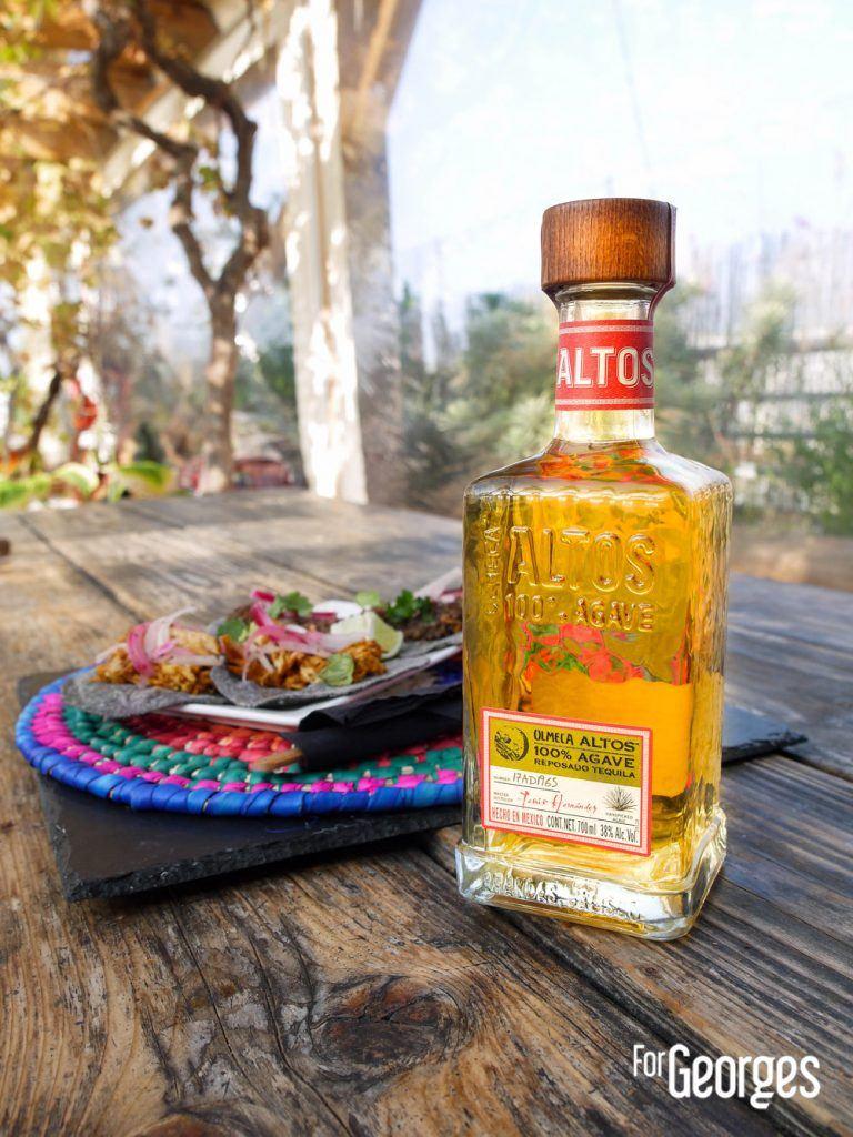 Tequila Altos avec tacos
