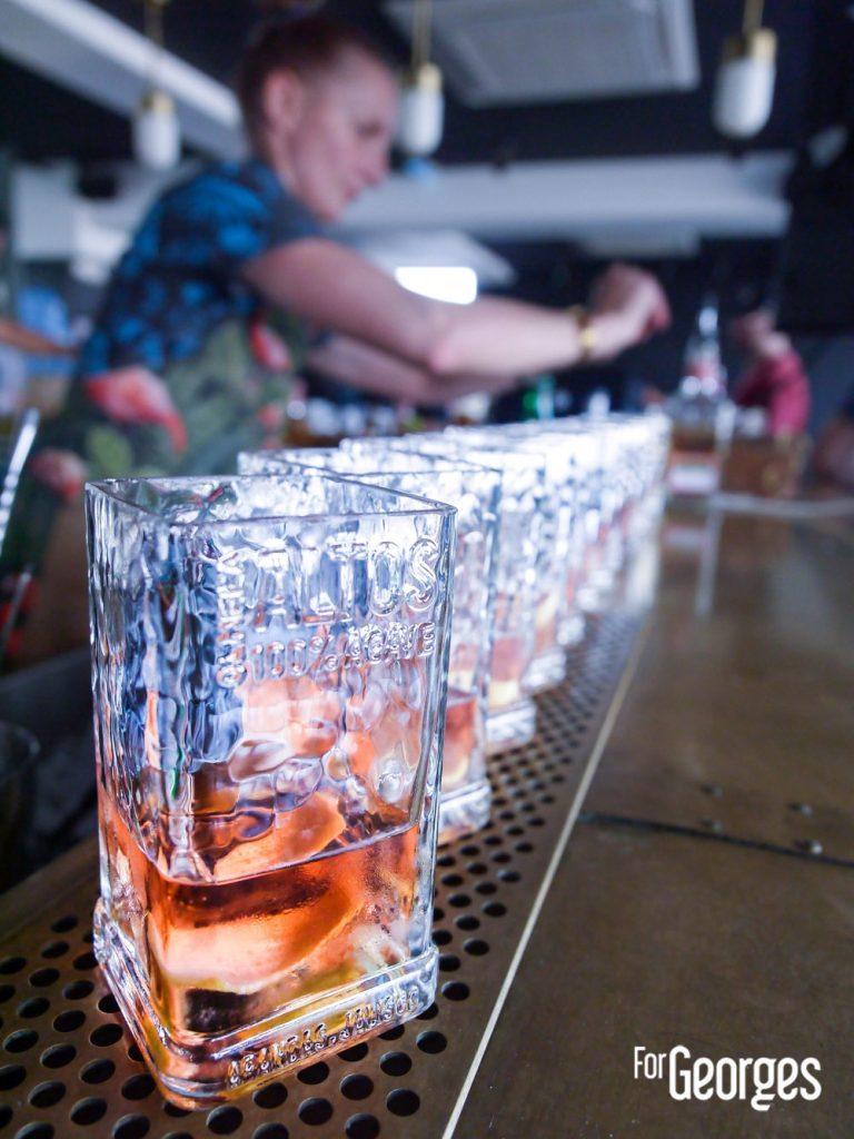 The tahona society par Altos cocktail Tequila