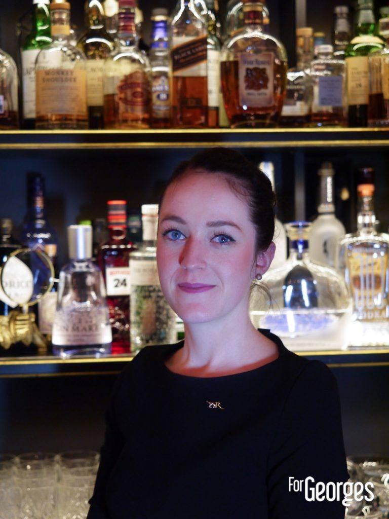 Roxanne Remmery Bar La Réserve palace Paris