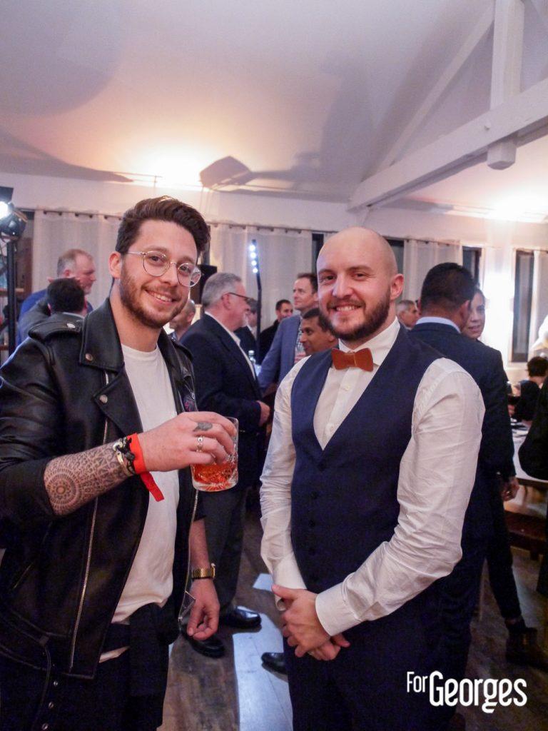 Nicolas Servettaz et Nicolas Goradesky Bar Bisou Paris