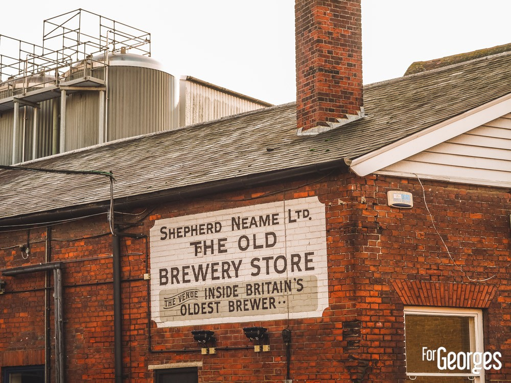 Sheepherd Neame plus vieille brasserie d'Angleterre