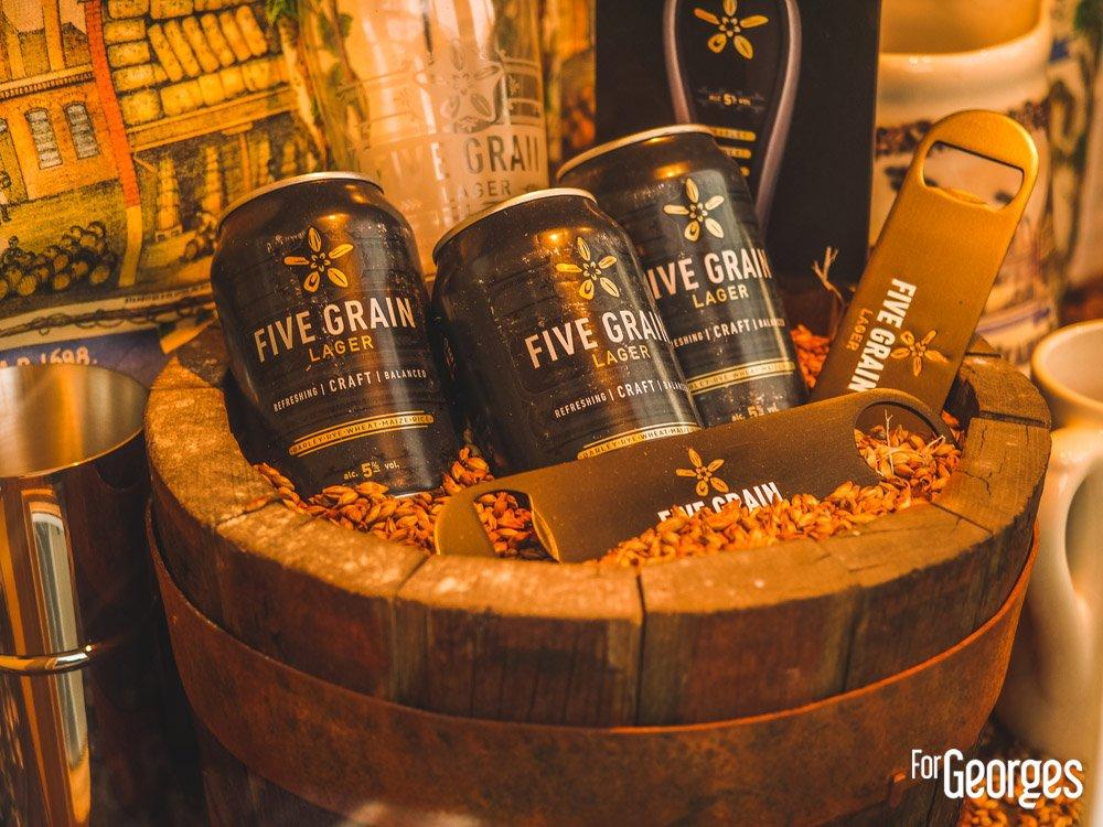 Brasserie Sheepherd Neame Five Grain